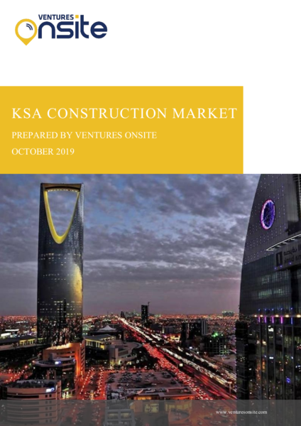 Report: KSA Construction – October 2019