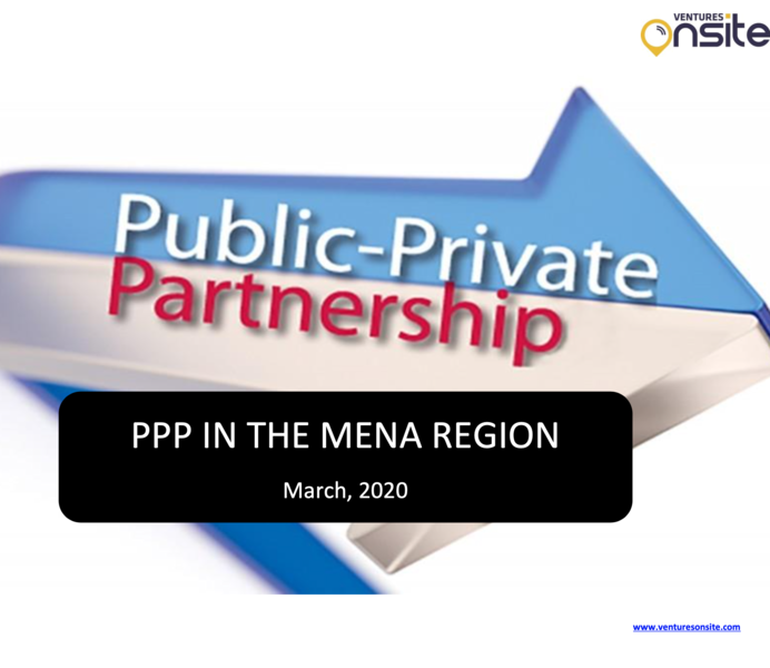 Report: PPP in MENA – March 2020