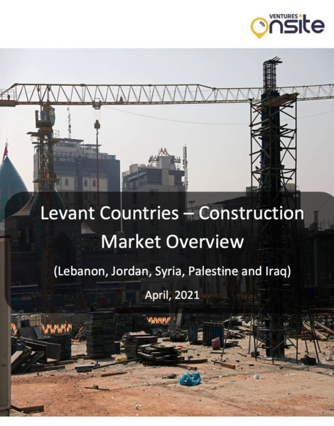 Report: Levant Countries - Construction Market Overview: April 2021