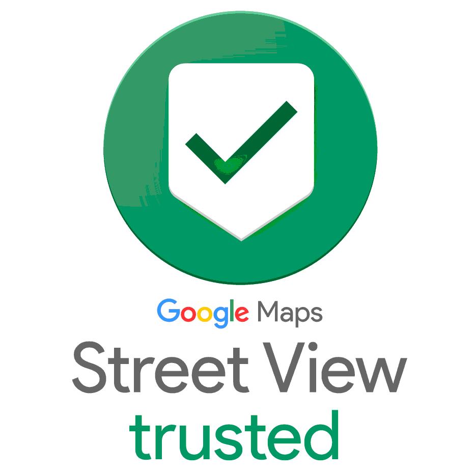 Wir sind Google Street View Trusted Fotografen