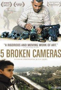 5 Broken Cameras / Cinq caméras brisées