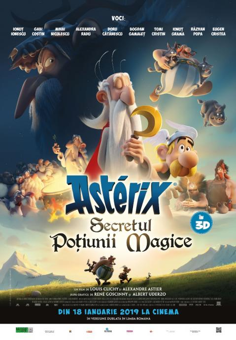 Asterix: The Secret of the Magic Potion 3D