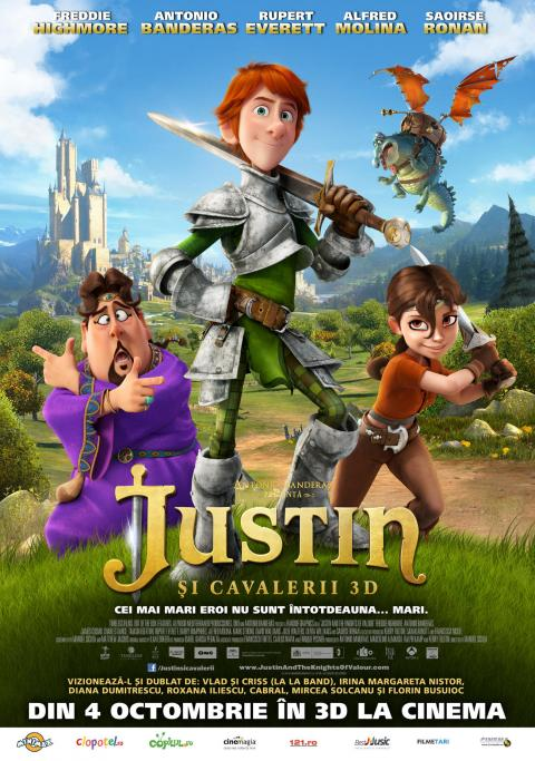 Justin and the Knights of Valour 3D