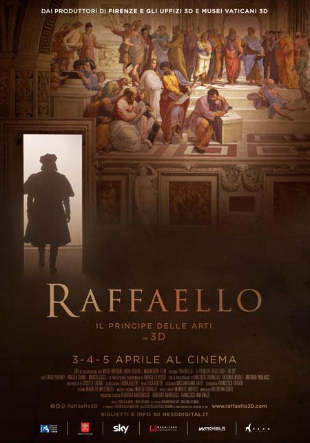 Raphael the Lord of the Arts in 3D / Raffaello: Il Principe delle Arti