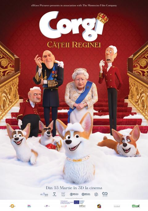 The Queen's Corgi 3D