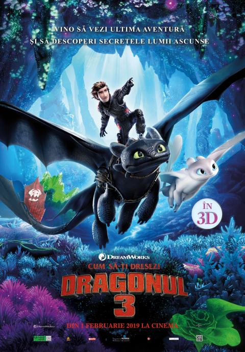 How to Train Your Dragon 3: The Hidden World 3D