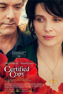 The Certified Copy / Copie conforme
