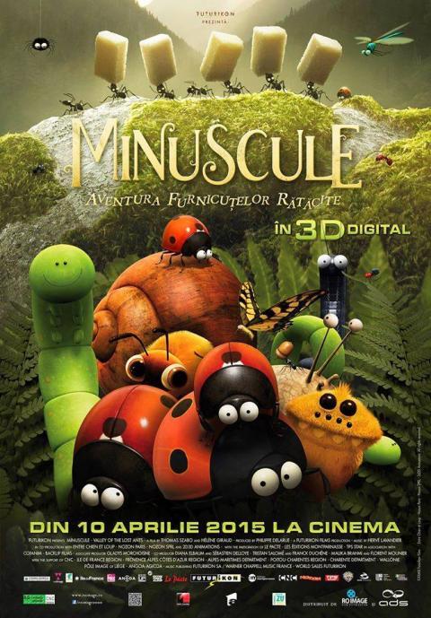 Minuscule: Valley of the Lost Ants / Minuscule - La vallée des fourmis perdues