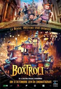 The Boxtrolls în 3D