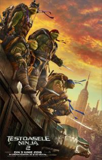 Teenage Mutant Ninja Turtles: Out of the Shadows 3D