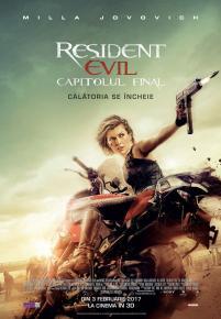 Resident Evil: The Final Chapter 3D / Resident Evil 6