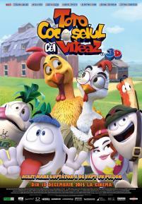 Un gallo con muchos huevos / Valiant Rooster 3D