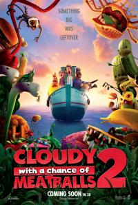 Cloudy with a Chance of Meatballs 2 / Cloudy 2: Revenge of the Leftovers- 3D