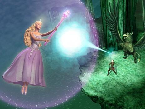 great fit shop best sellers half off Fotografii cu Barbie si al ei Pegasus magic (Barbie: The ...