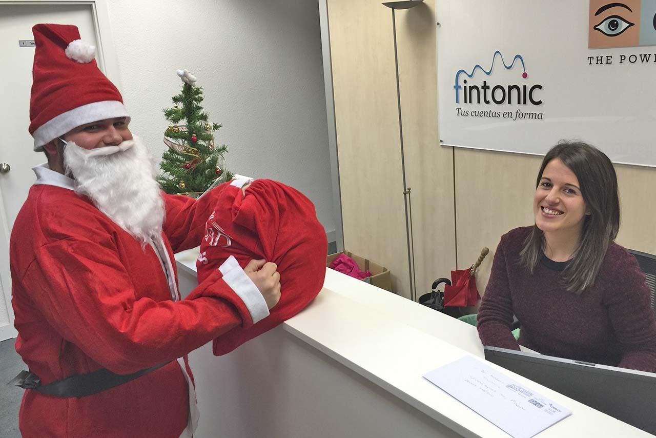 Descubre en exclusiva la entrevista que Fintonic hace a Papá Noel