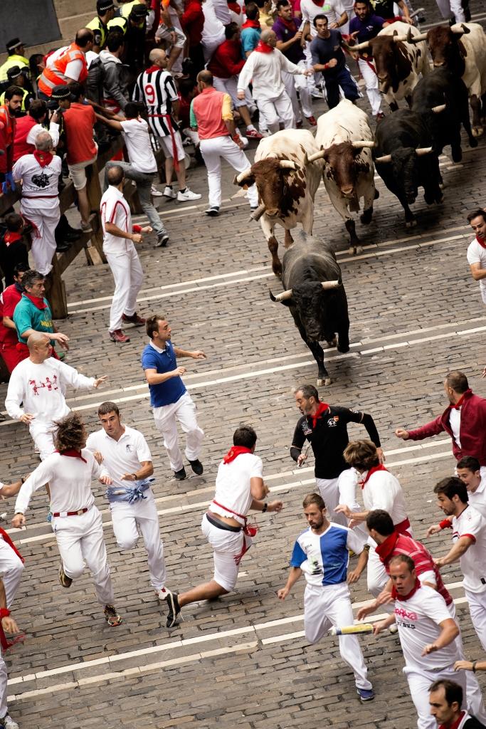 Que este San Fermín no te pille el toro