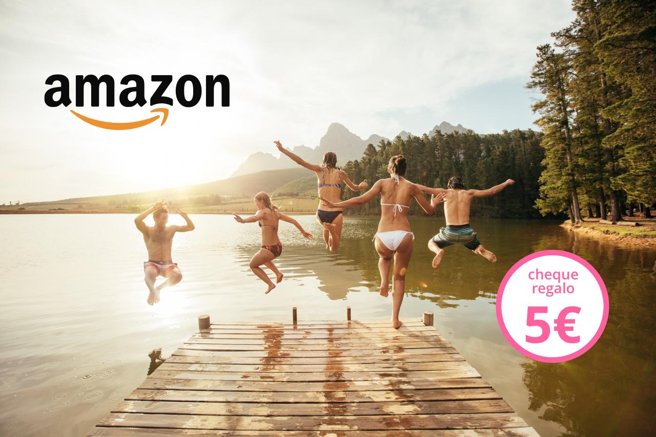 ¡En verano vuelven los Cheques regalo de Amazon.es de 5 €! [Promoción finalizada]