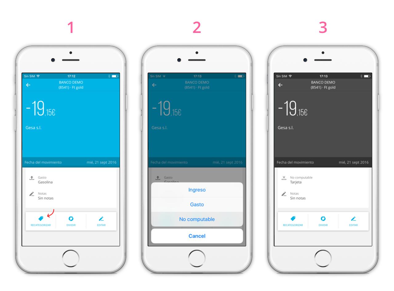 Descubriendo la app de Fintonic: Categorías