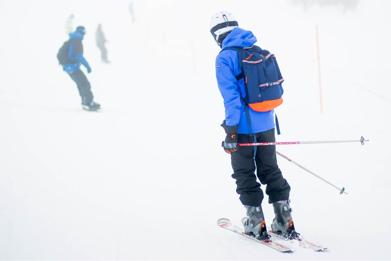 ahorro material esqui