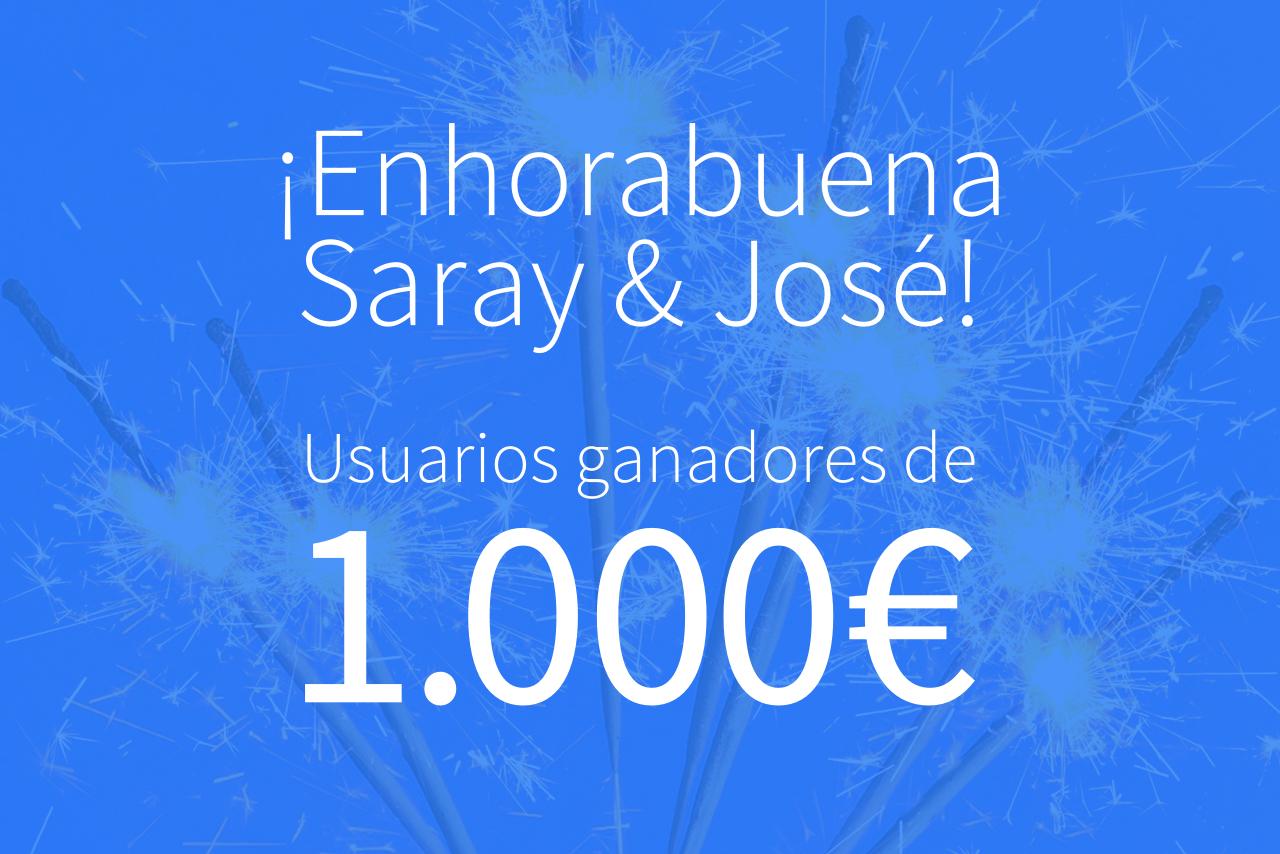 ¿En qué gastarán Saray y José los mil eurazos que ganaron?