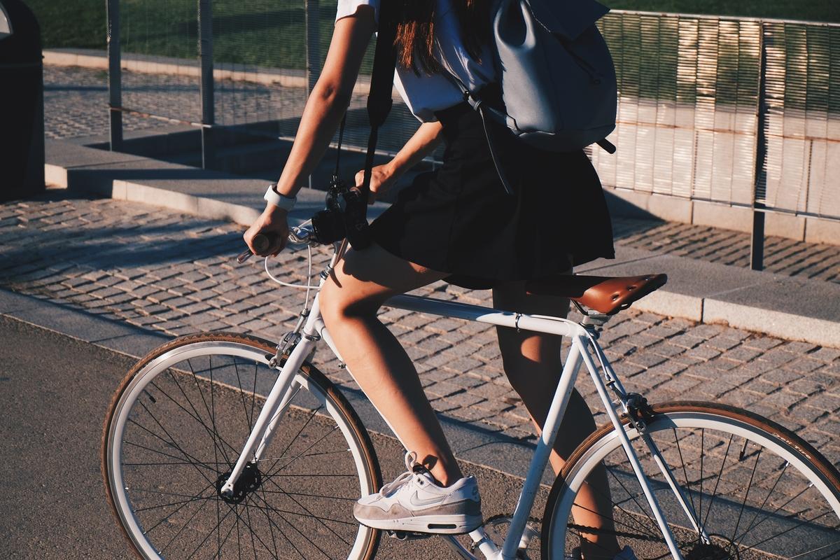 bicicleta transporte ciudad