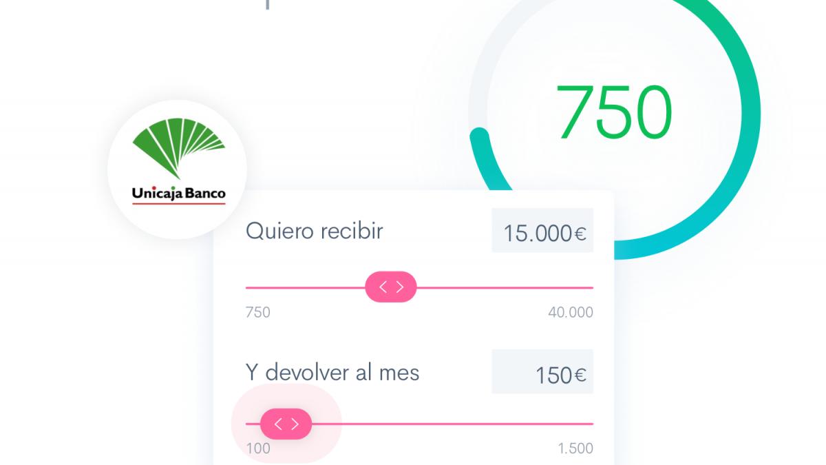 Unicaja Banco se incorpora a la plataforma de préstamos al consumo de Fintonic