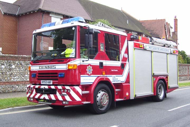 2003 Dennis 'Sabre'  West Sussex Fire & Rescue