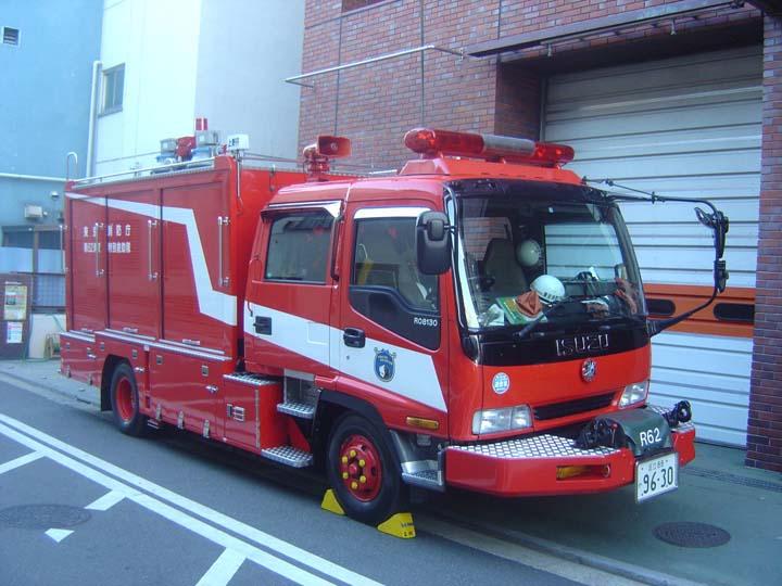 Tokyo Fire Dept Isuzu Rescue 62 Ueno