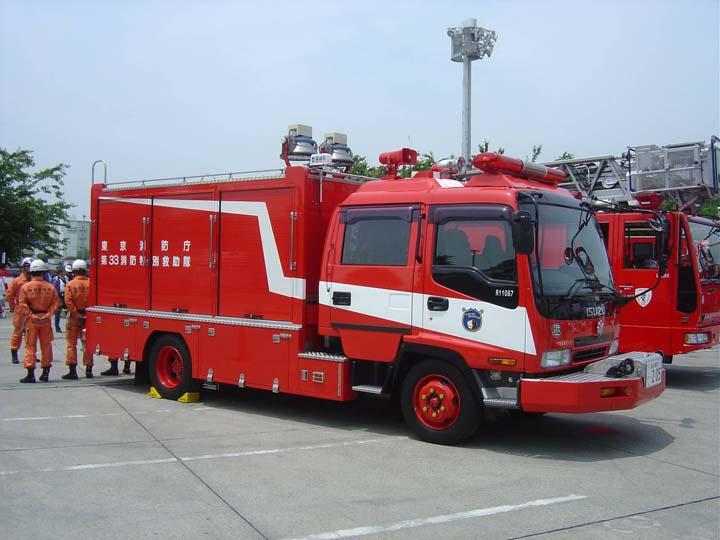 Tokyo Fire brigade Isuzu Rescue 33 3th district
