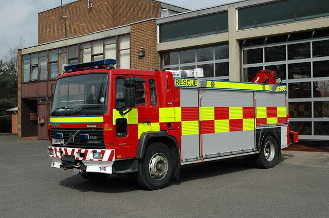 Central Scotland Rescue Truck