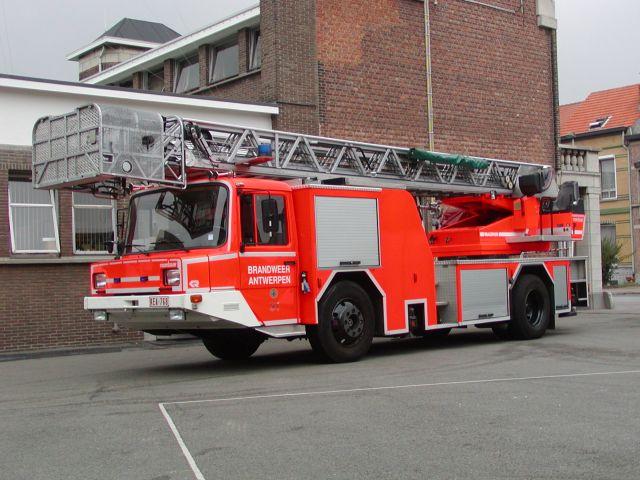 Brandweer Antwerpen TL Magirus nb