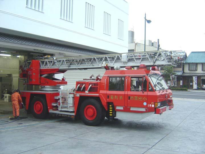 Odawara FD Morita Turntable ladder