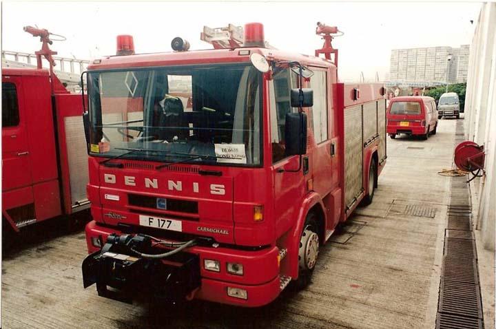 Hong Kong Fire service Dennis pumper