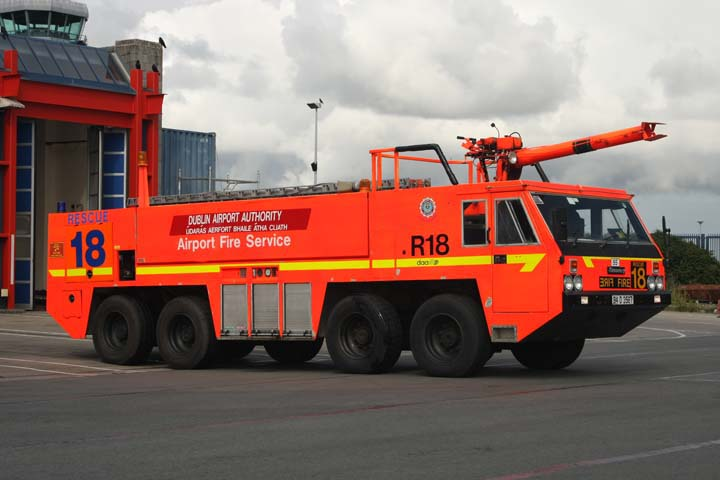 Dublin Airport Authority Fire Service Timoney R18