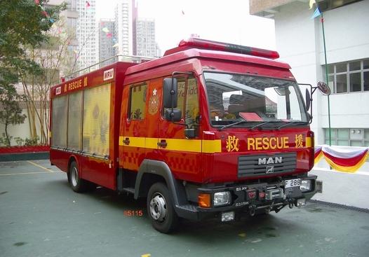 MAN Major Rescue Unit