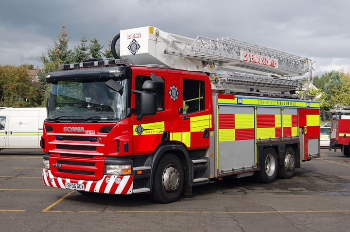 ARP Strathclyde Scania front