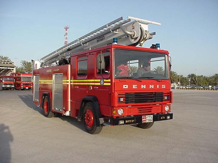 Dennis DF131 Simon SCA 160 Hydraulic Platform
