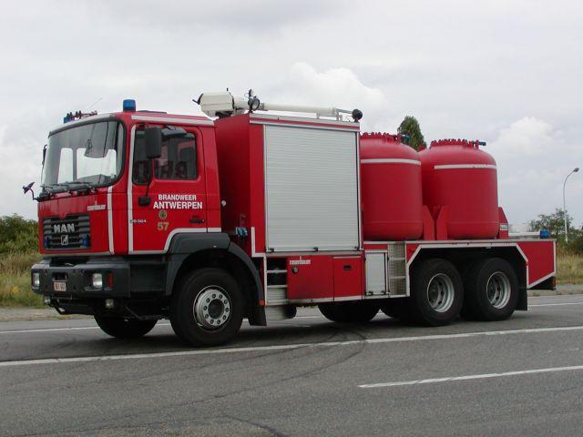 Brandweer Antwerpen  MAN powder init