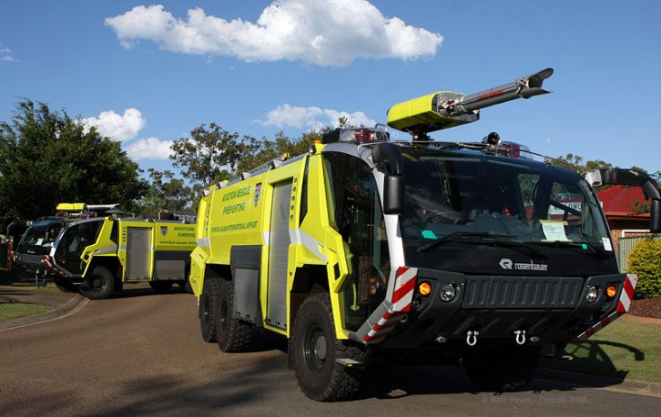 New Rosenbauer Panthers Norfolk Island