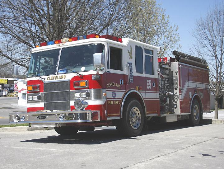 Cleveland Tennessee Fire department Pierce Dash