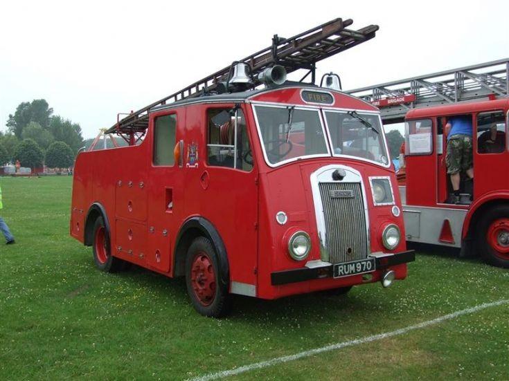 Dennis F8 Pump Leed city Fire brigade