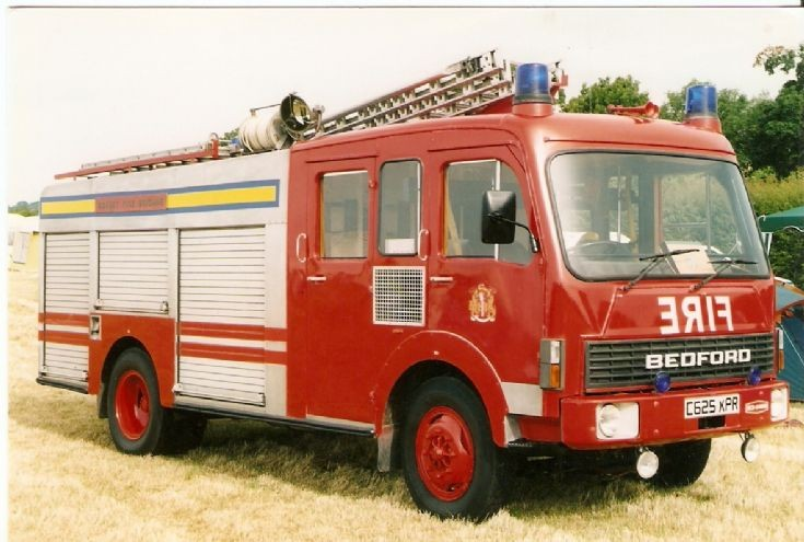 Dorset Fire Brigade Bedford HCB Angus