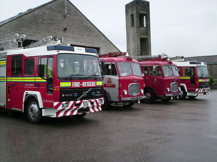 Wells Fire station Past and Present