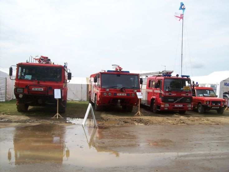 fire trucks at war and peace show