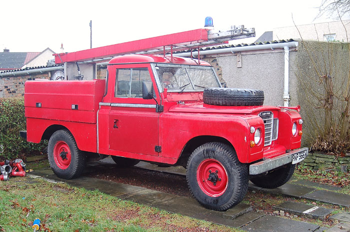 Land Rover Fire Engine