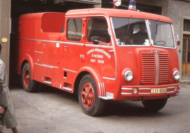 Sapeur Pompiers Colmar 68 Berliet