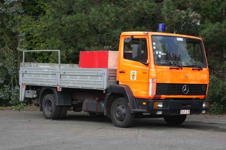Feuerwehr Eupen Mercedes Benz 814