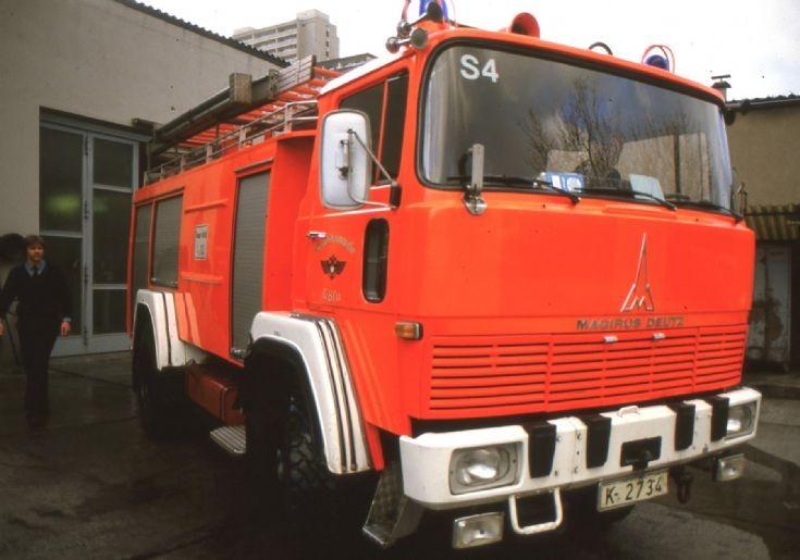 Fire department Cologne - Germany Magirus Deutz