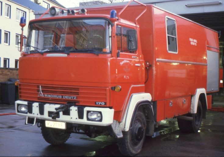Fire department Cologne Magirus station 5