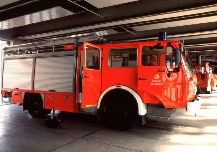 Fire department Berlin - Germany Mercedes pump